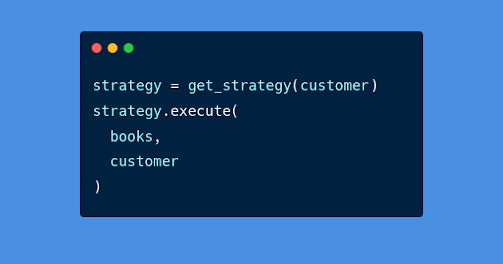 Design Patterns - Strategy