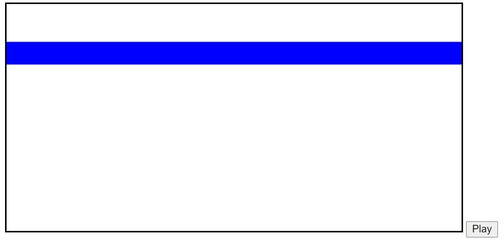animate blue square