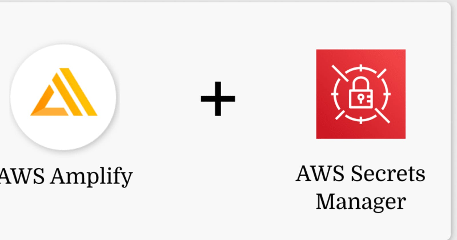 How to Use Environment Variables to Store Secrets in AWS Amplify Backend
