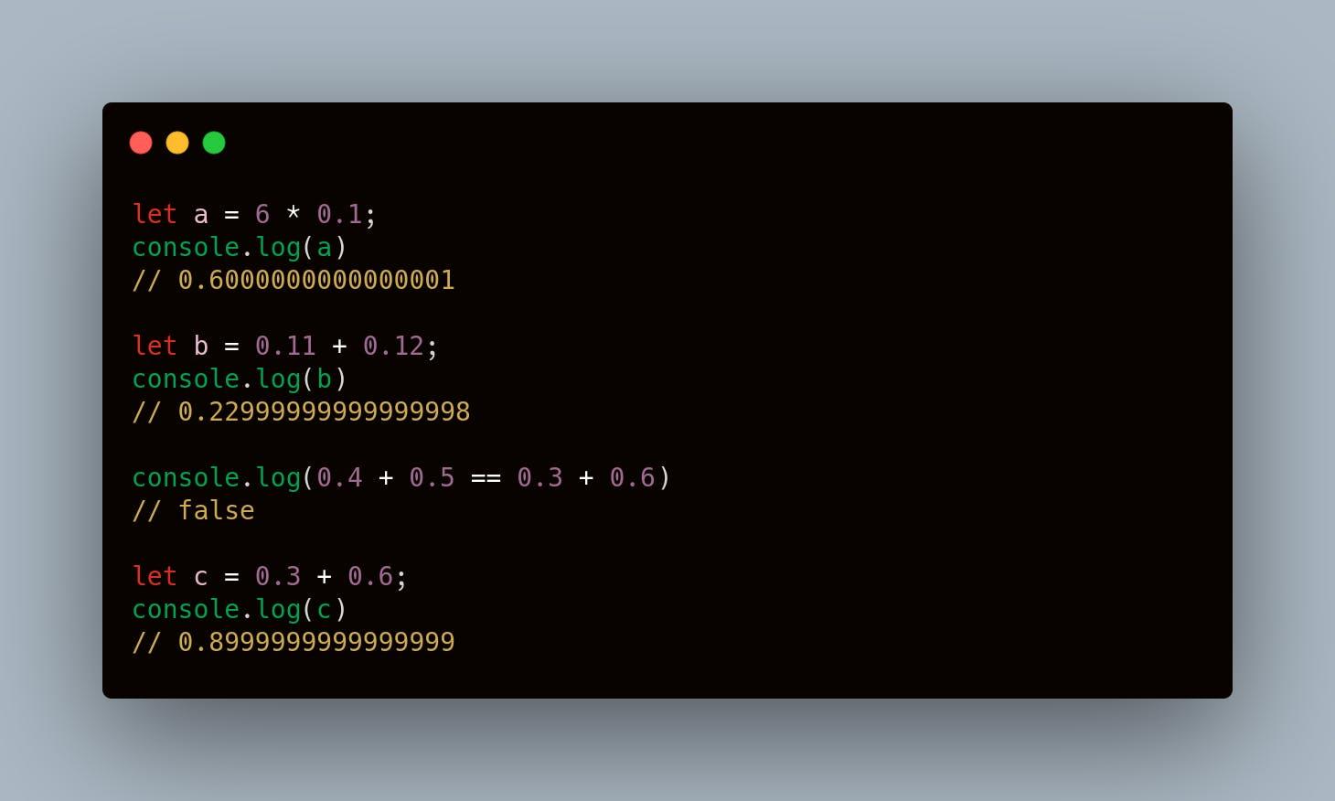 JavaScript Weird Stuff