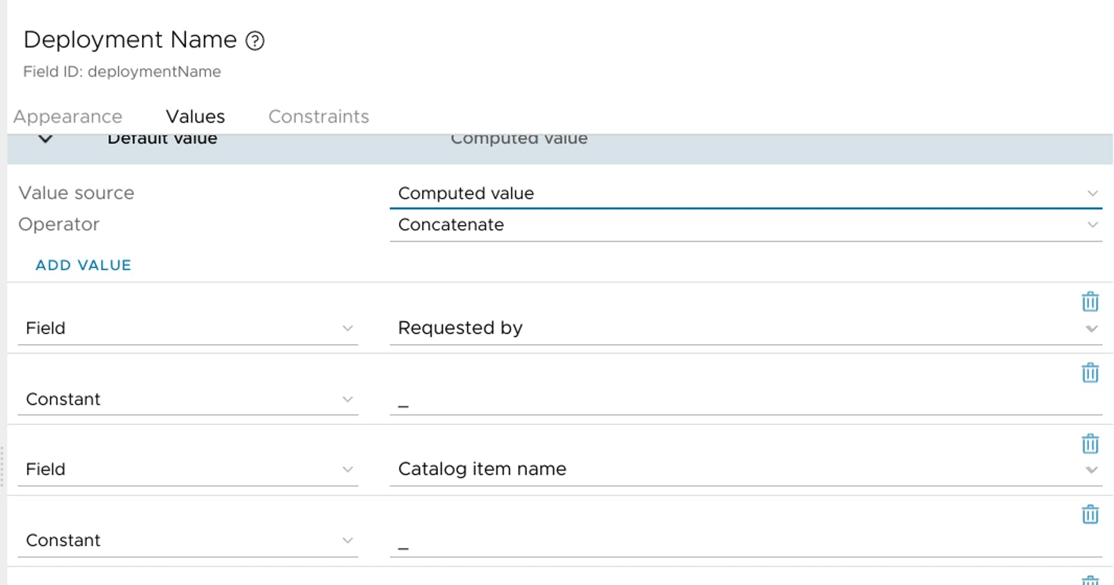 vRA8 Automatic Deployment Naming - Another Take
