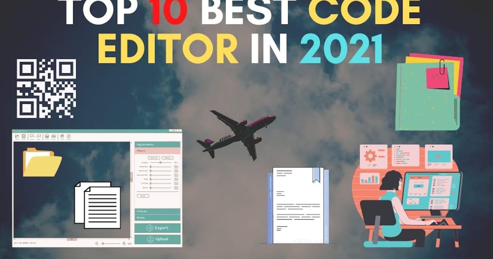 Top 10 Best Code editors in 2021