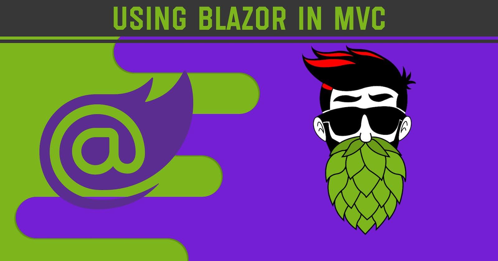 Using Blazor in MVC - Blazor Tutorial