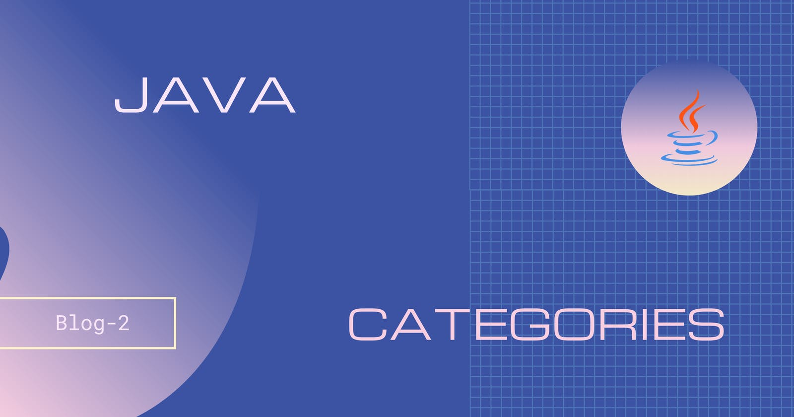Java Categories/Platforms/Editions