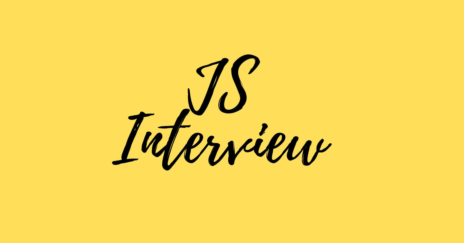 🎯 JS Interview Checklist - Part 1 (Basics)