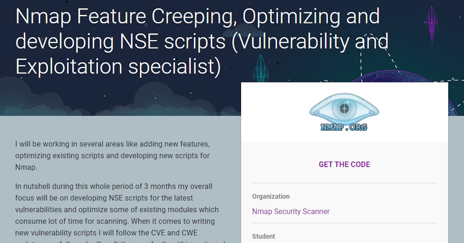 GSOC 2017 with Nmap Security Scanner