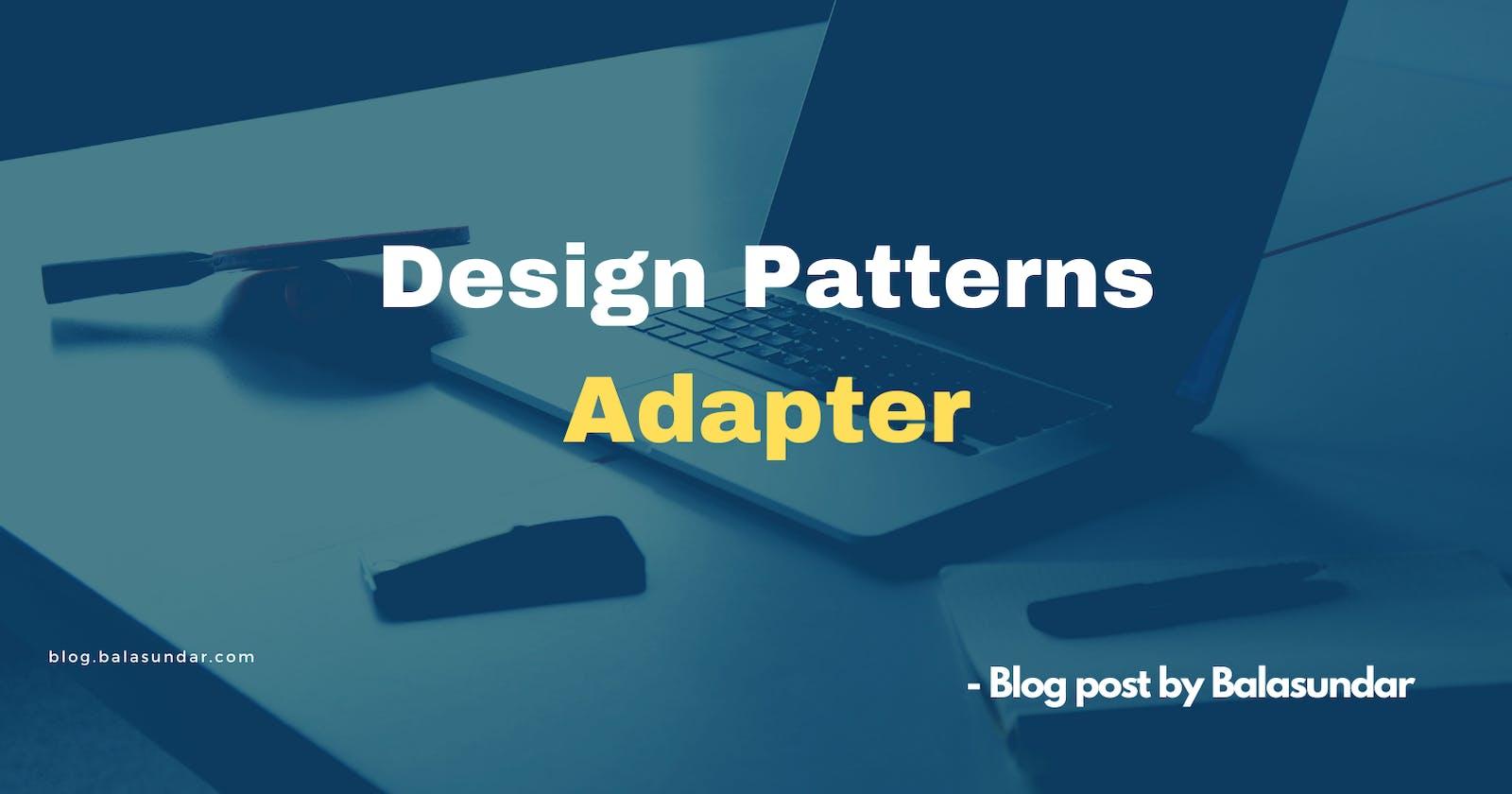 Design Patterns - Adapter