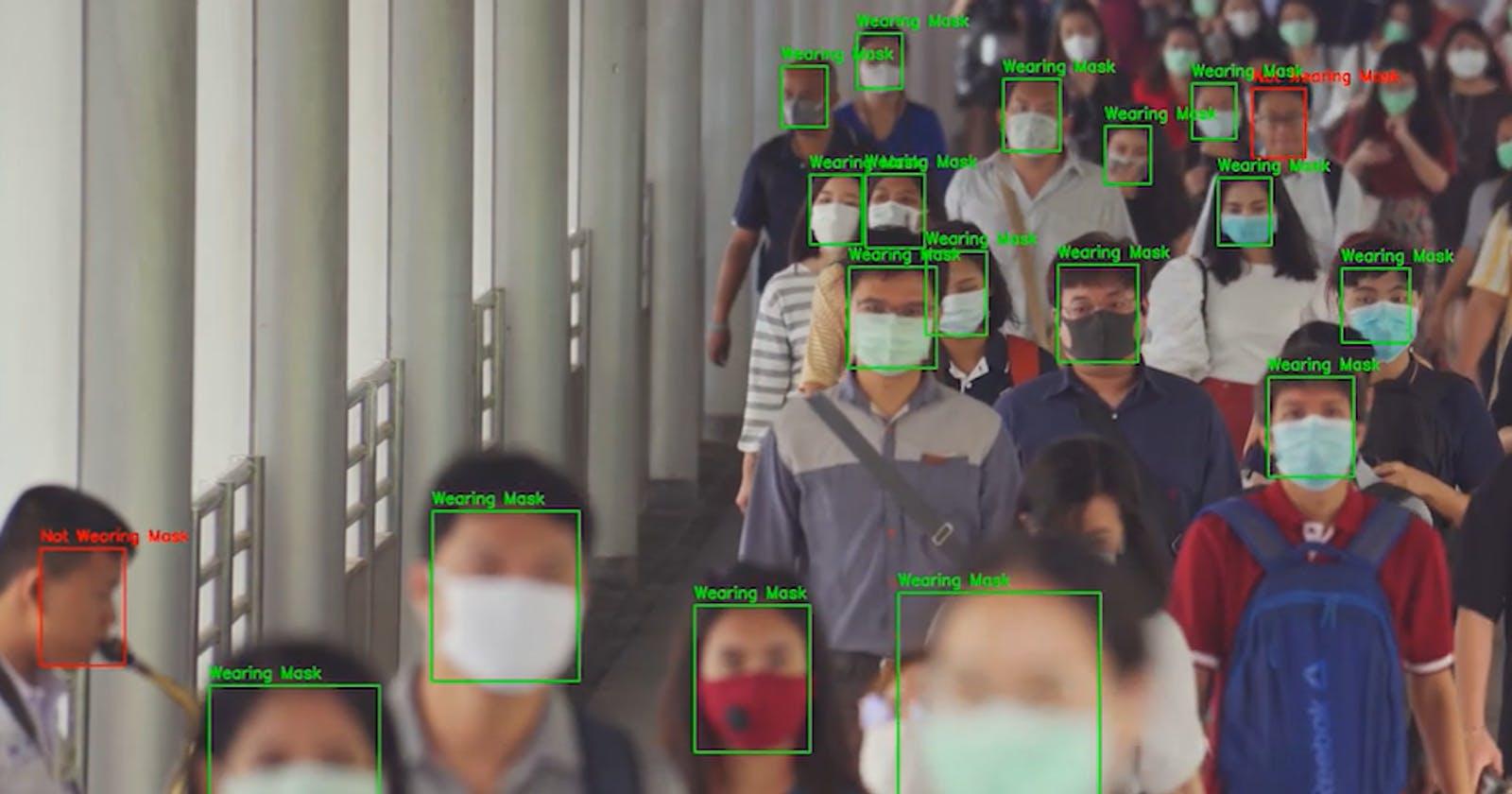 Face Mask Detection using Open CV