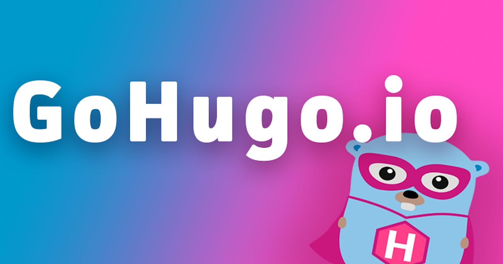 Membuat website statik tanpa hosting dengan Hugo dan Github