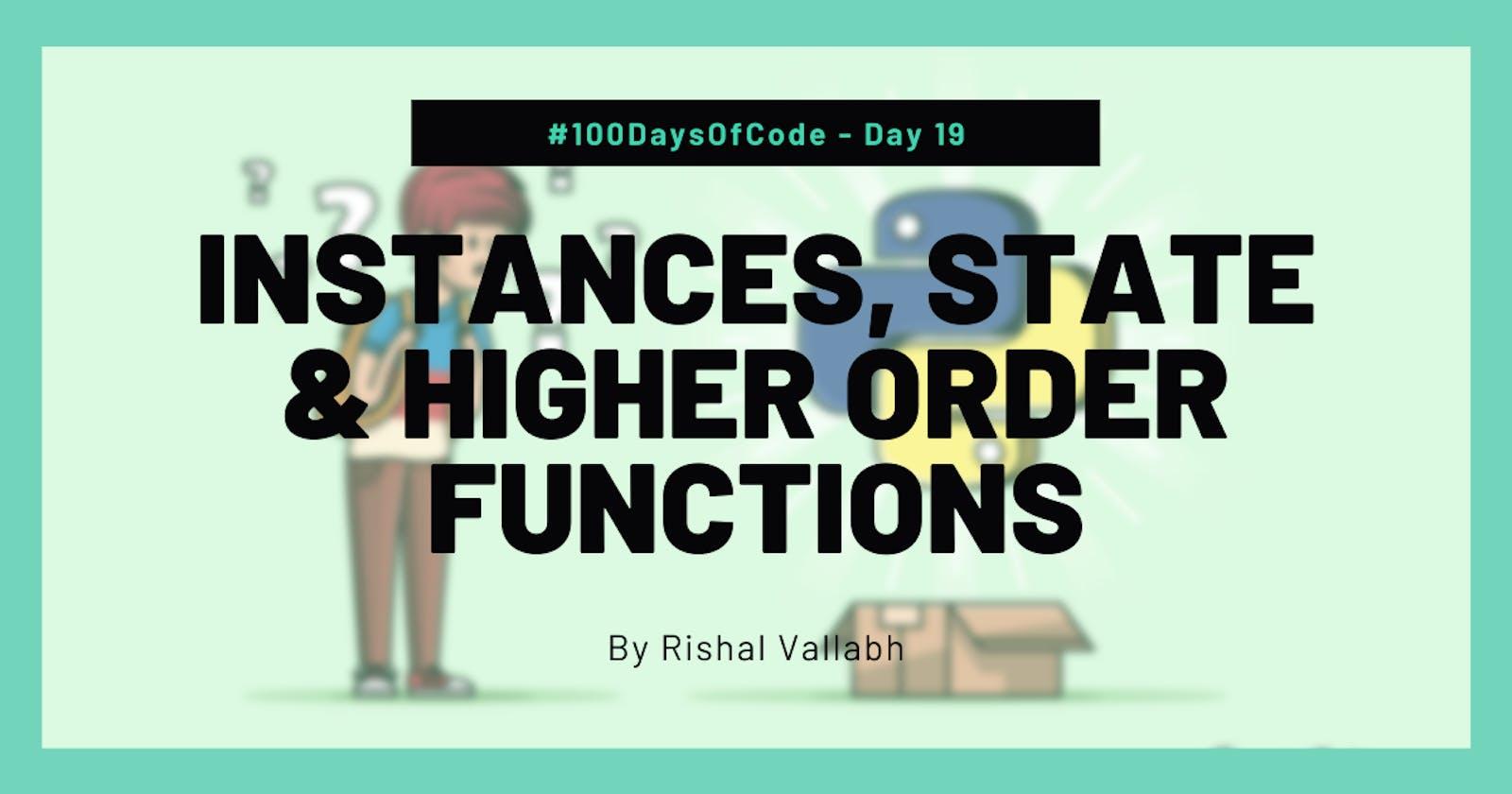 #100DaysOfCode: Python Day 19