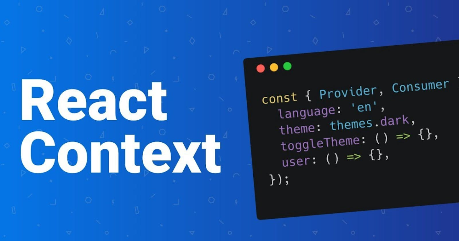 React Hooks with Context API as a state management solution.