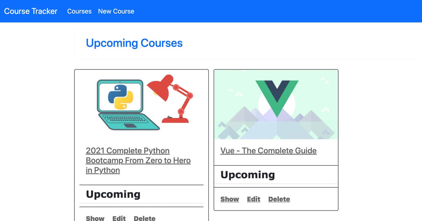 Build Course Tracker Using Ruby On Rails