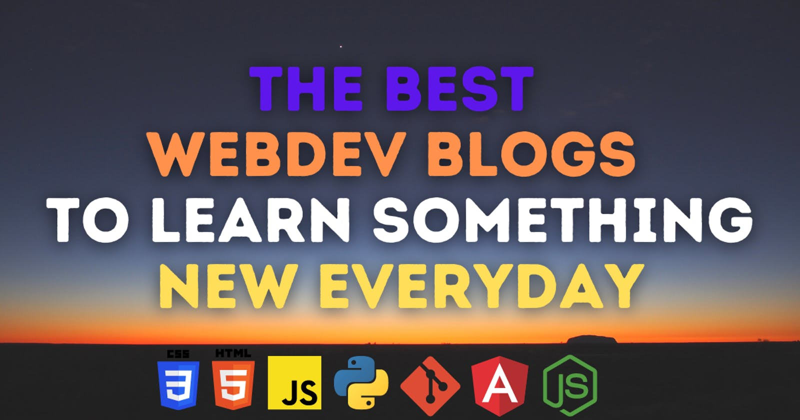 Top 16 Best WebDev blogs to level your programming and blogging skills up