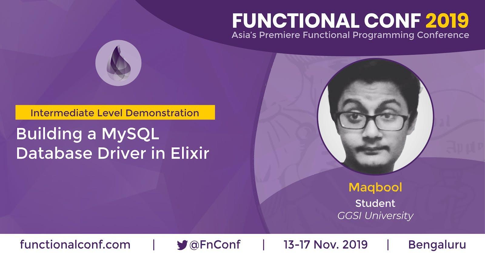 Building a MySQL Database Driver in Elixir @ Code BEAM Lite