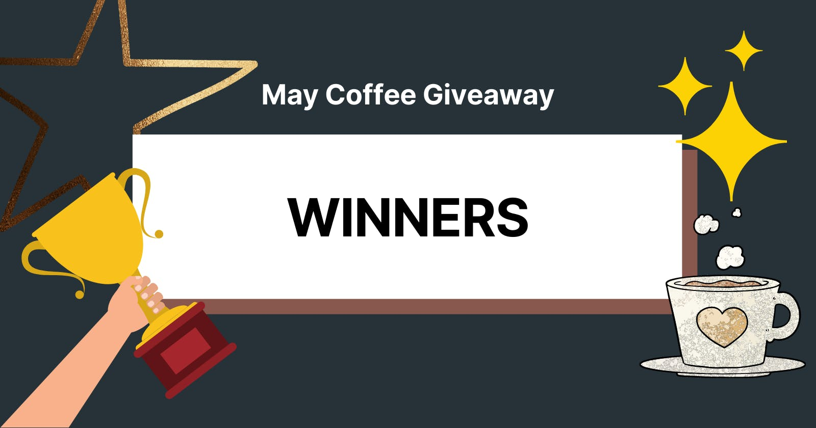 Winners of May Coffee Giveaway!