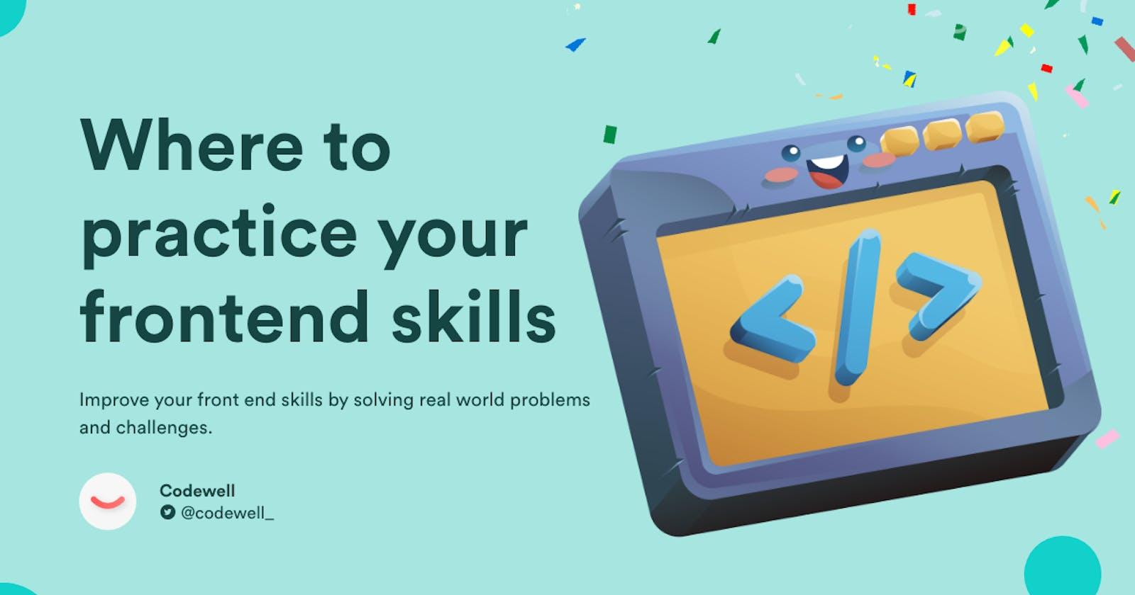 7 Websites to Practice Your Frontend Development Skills