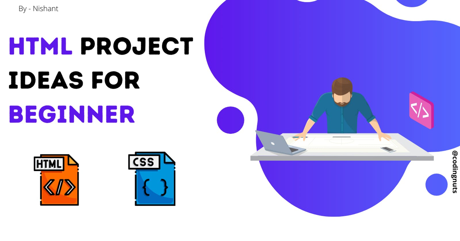 6 amazing HTML project ideas for beginners