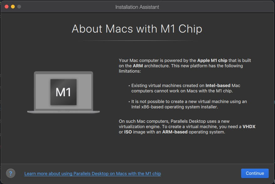 Windows 10 on Apple M1