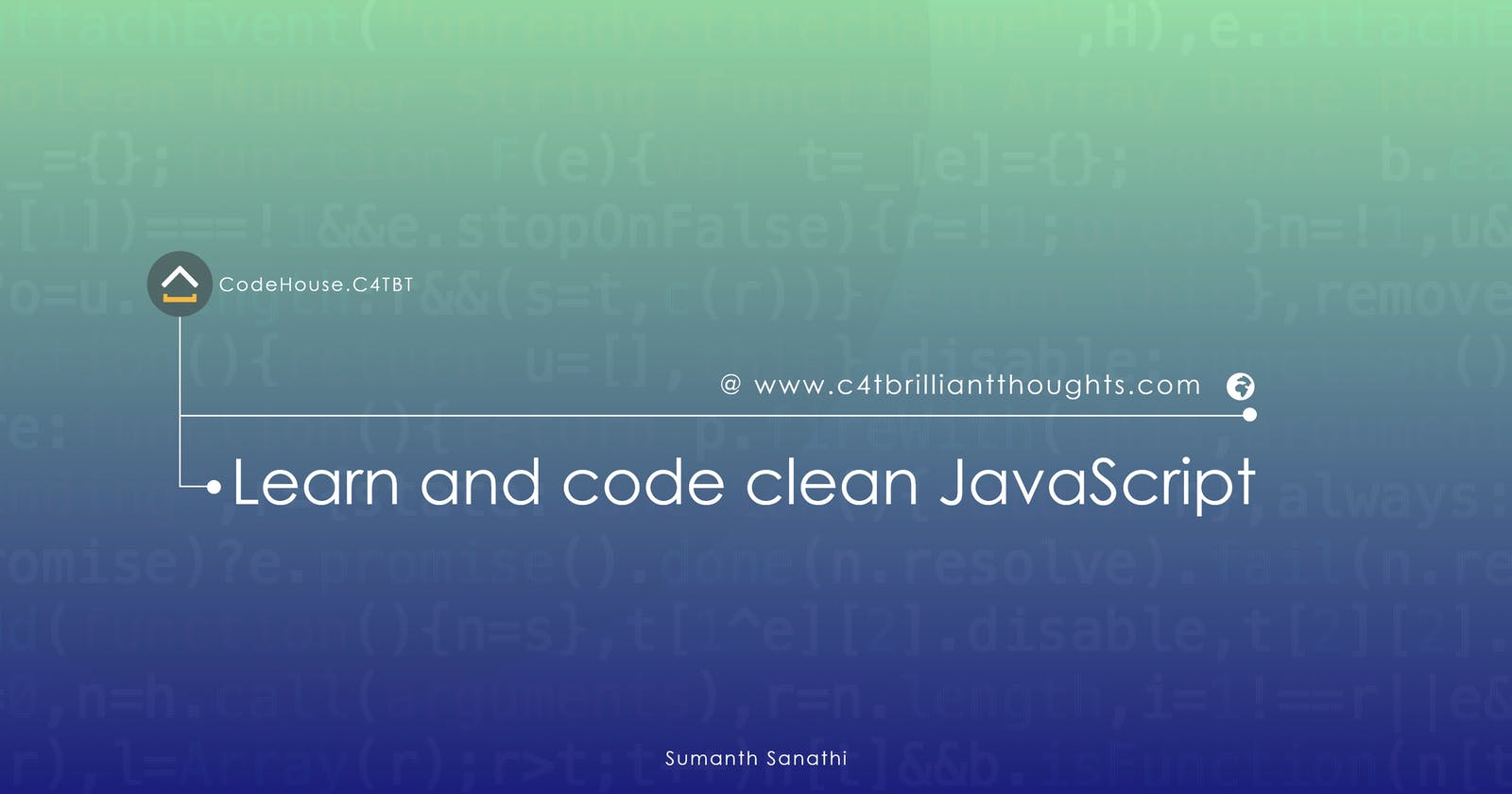 Learn and code clean JavaScript