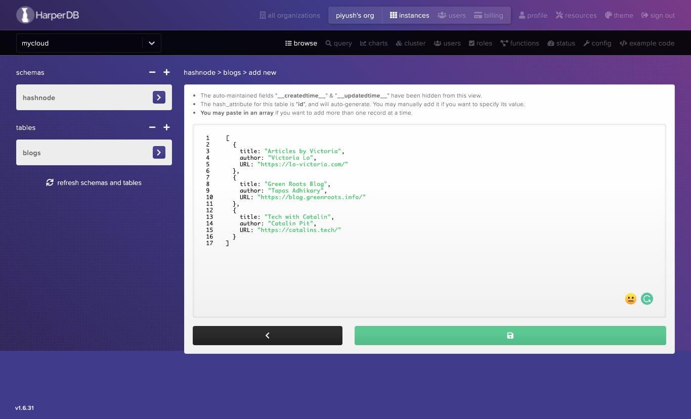 screencapture-studio-harperdb-io-o-e989f798-i-compute-stack-e989f798-1622907742866-browse-hashnode-blogs-add-2021-06-06-21_43_08.png