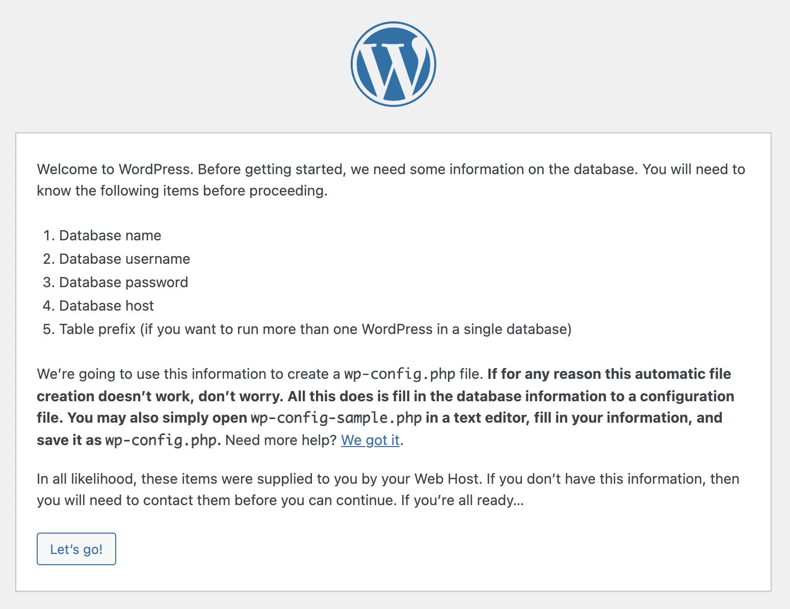 Mac OS X Local WordPress installation