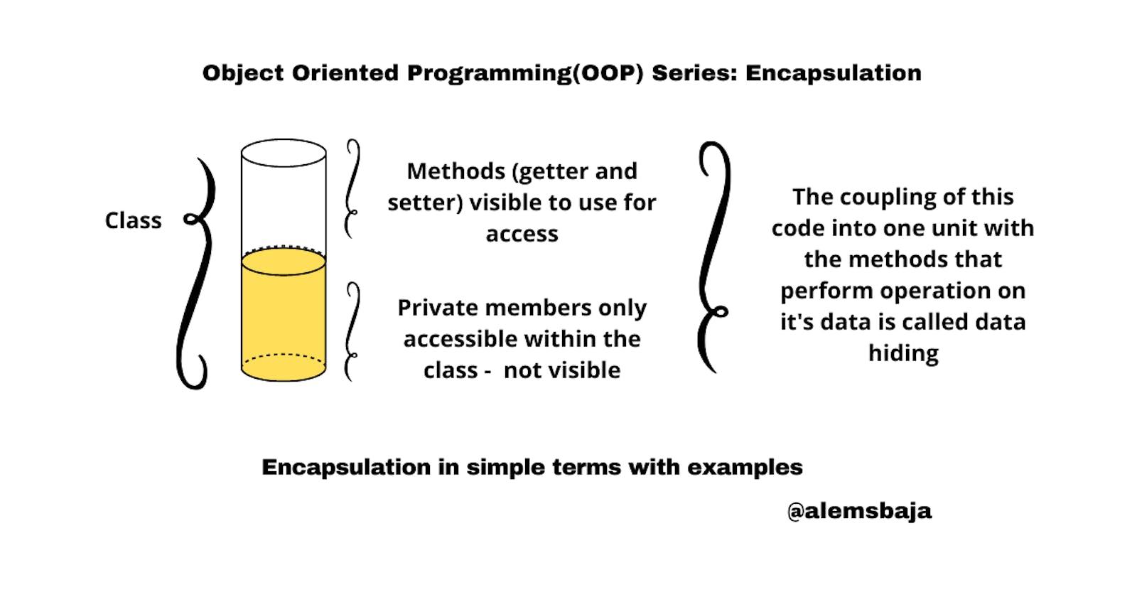 Object Oriented Programming(OOP) Series: Encapsulation