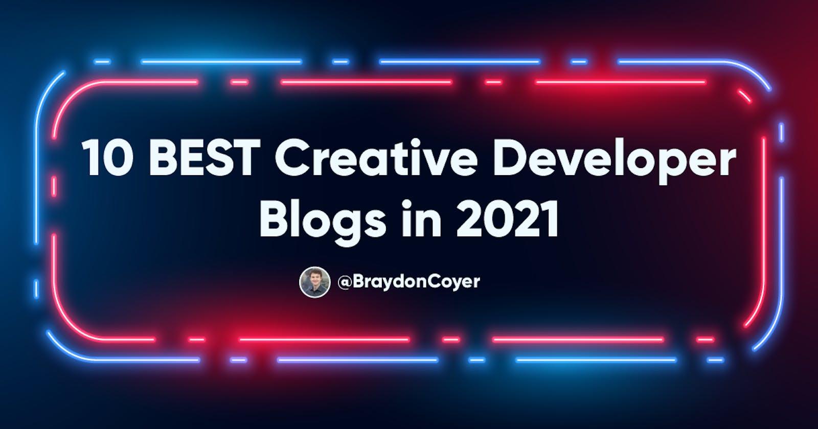 10 BEST Custom and Creative Developer Blogs in 2021
