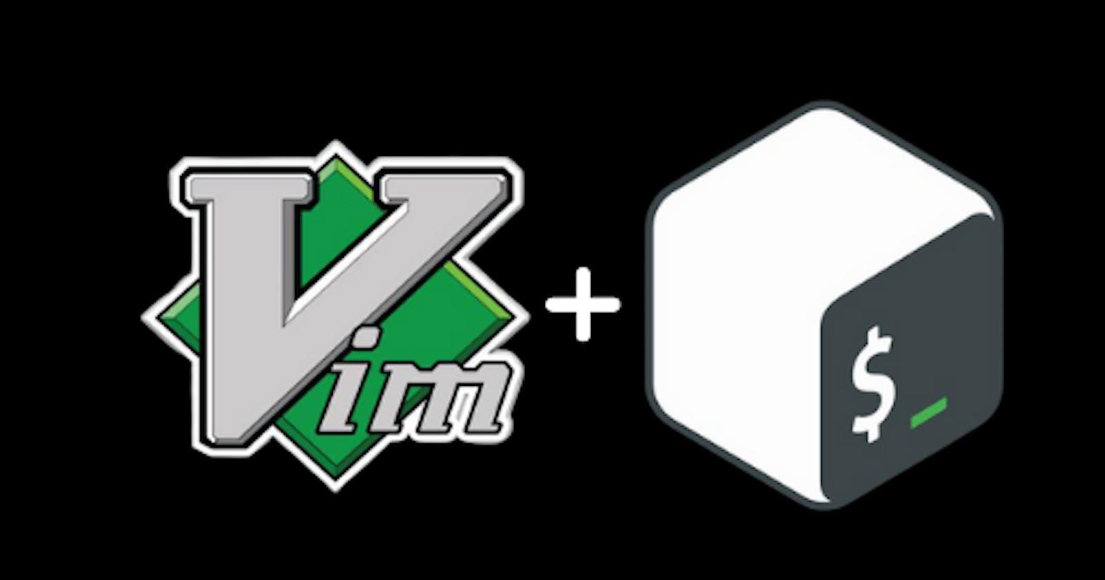 Vim setup for BASH scripting