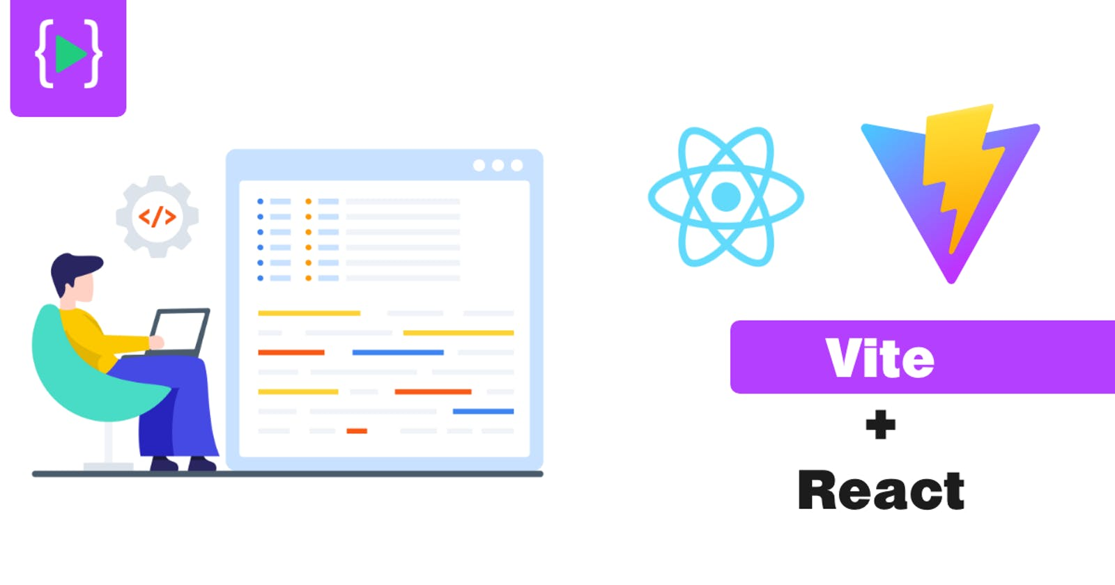 What is Vite + React!