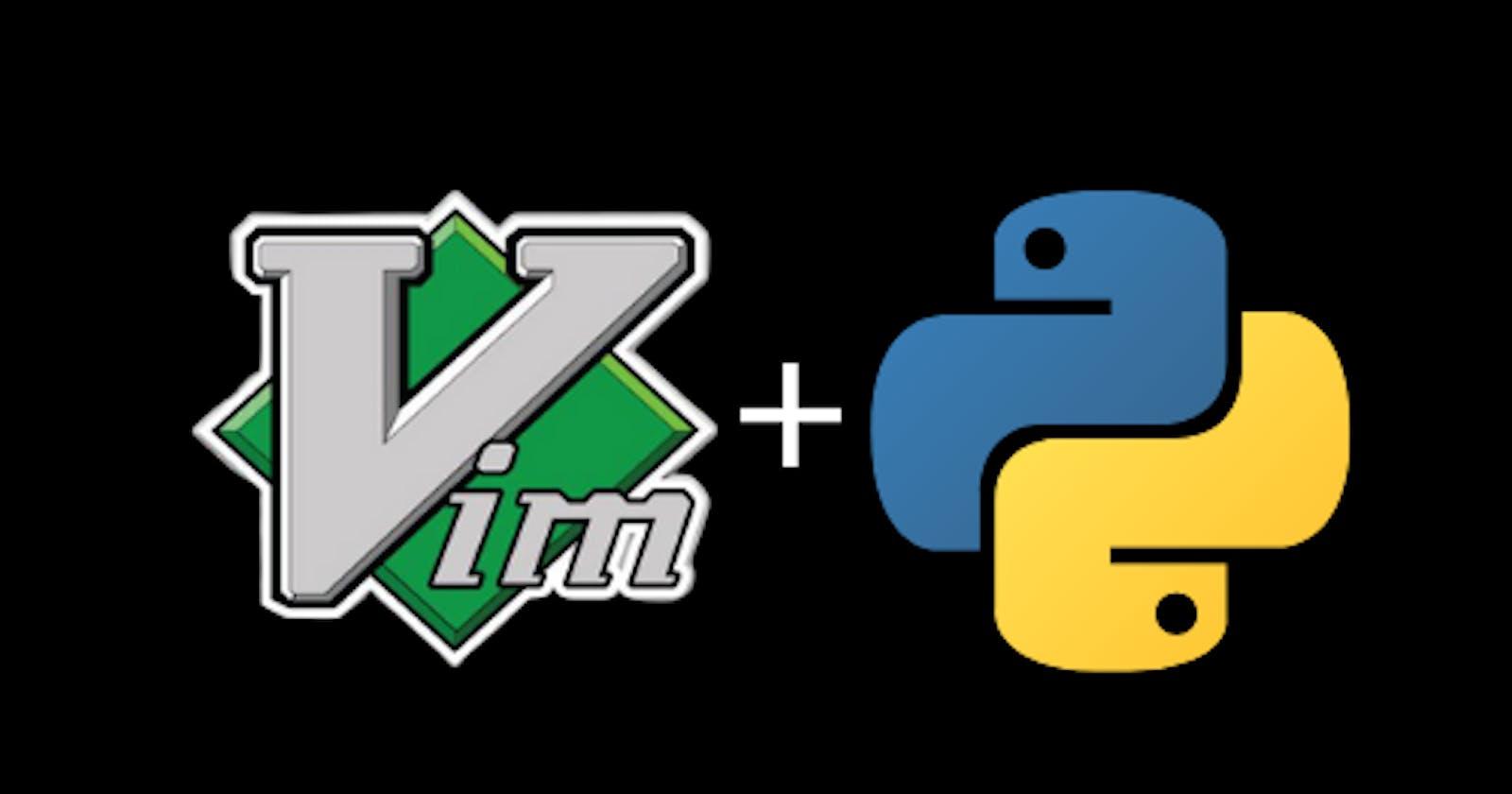 Setting up Vim for Python