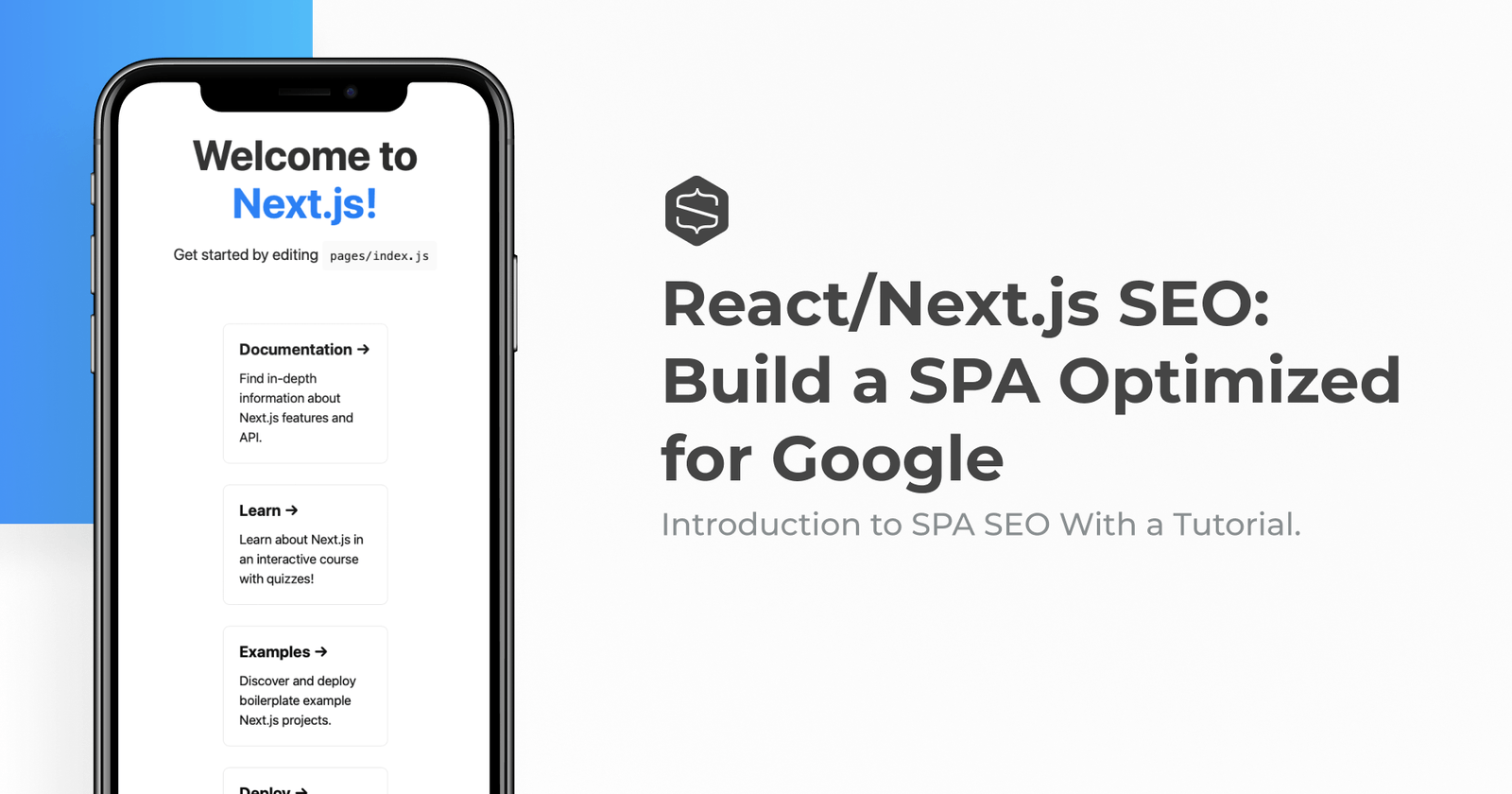Crafting a React/Next.js Single Page Application Optimized for SEO