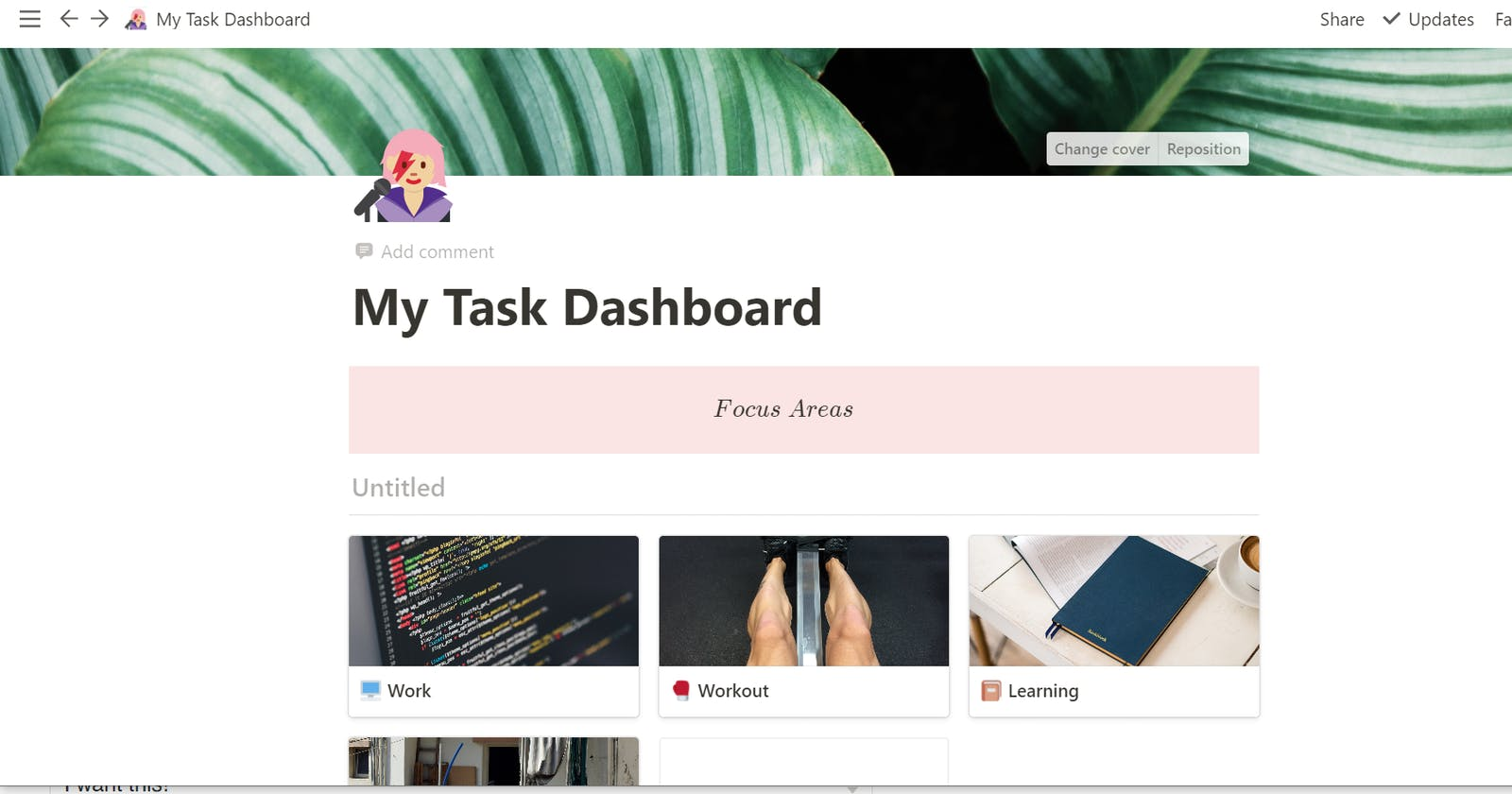 Quick and Easy Task Tracker on Notion