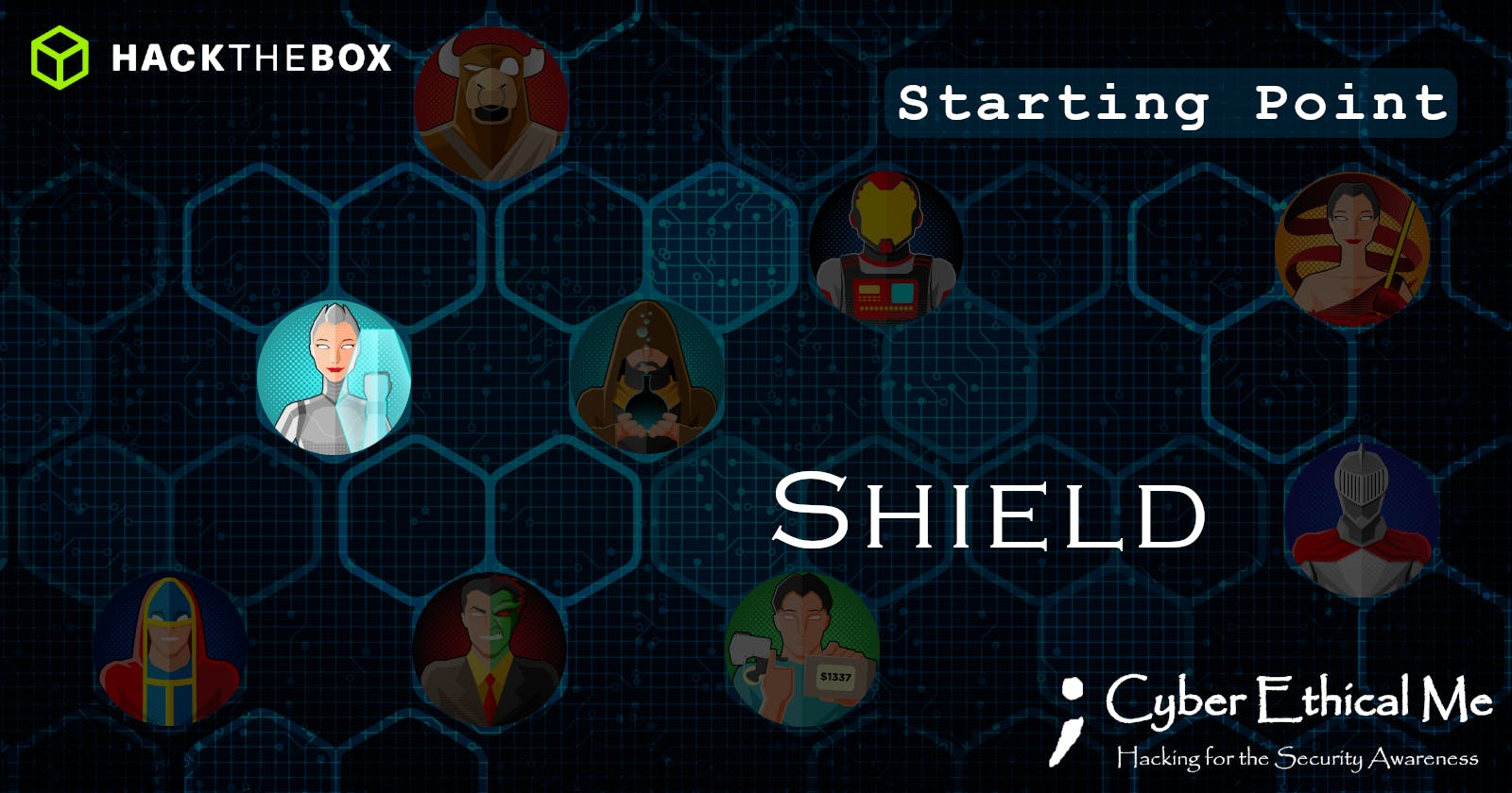 HTB Starting Point: Shield