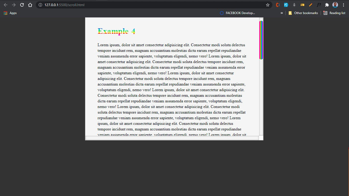 sample 4 on browser