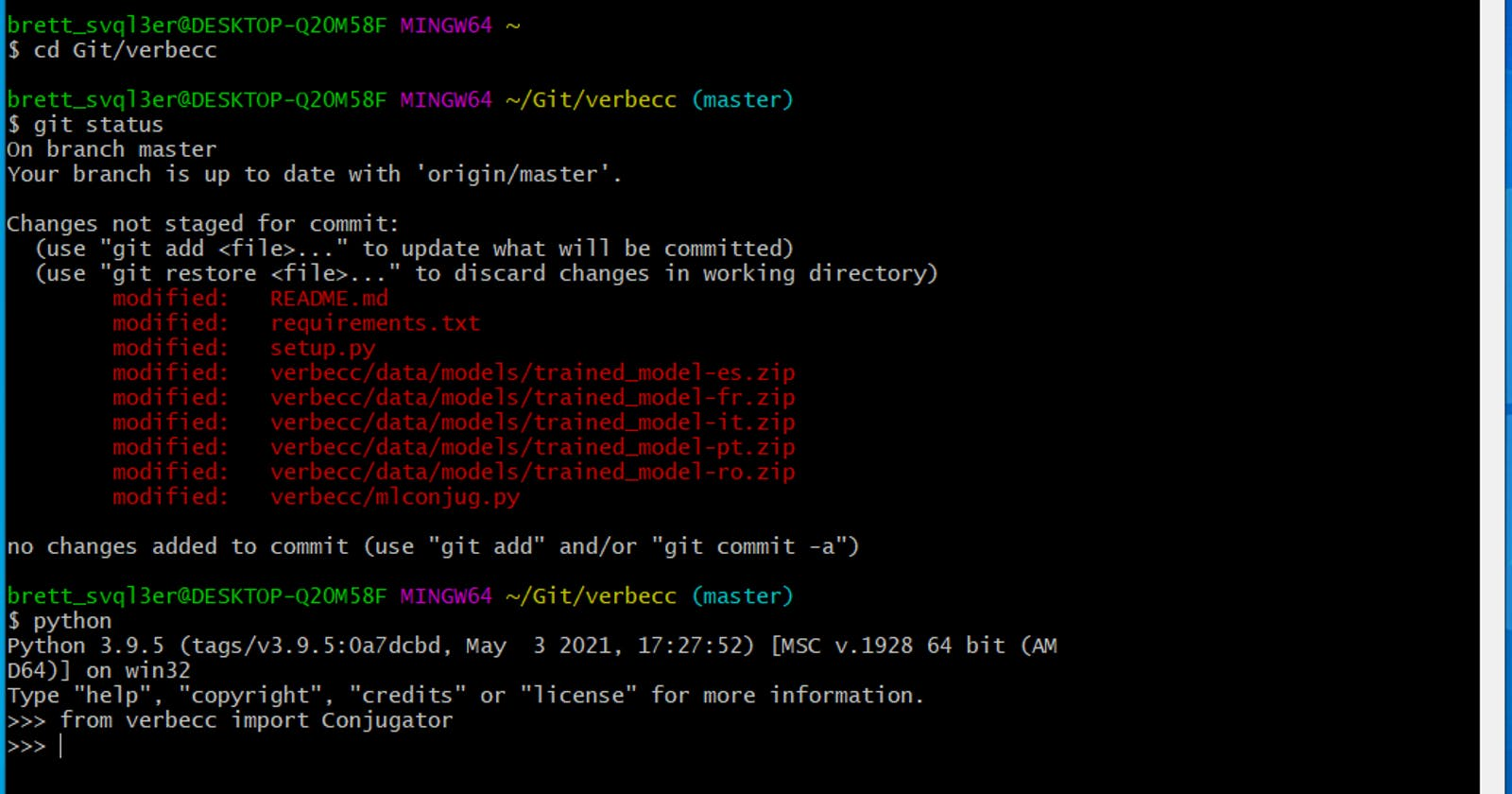 Git Bash - a handy Bash shell for Windows