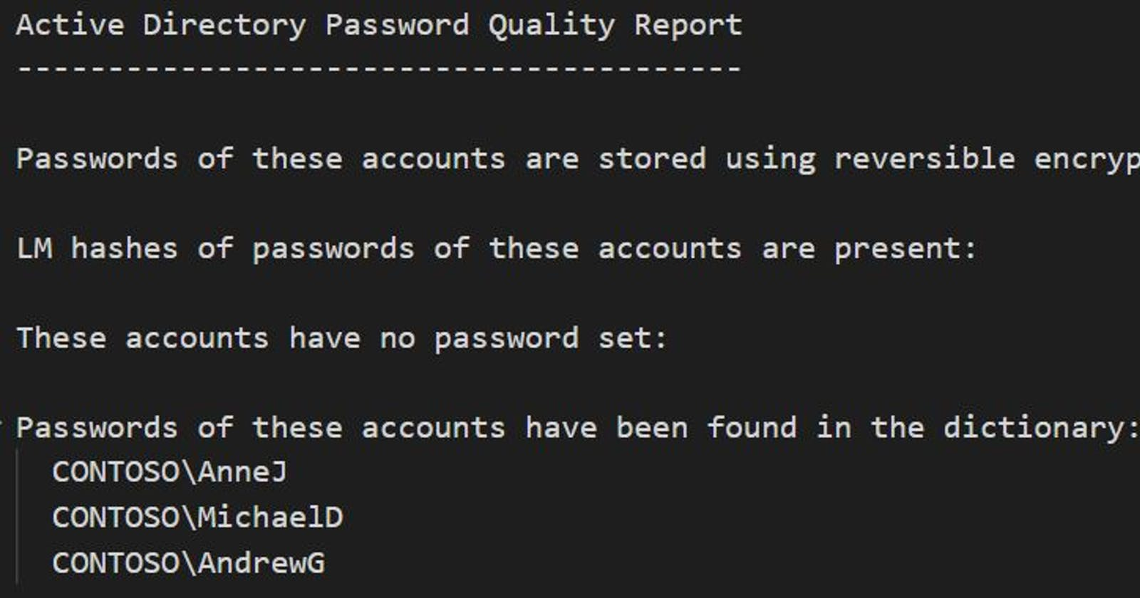 Audit your Active Directory user passwords against haveibeenpwned.com safely using PowerShell