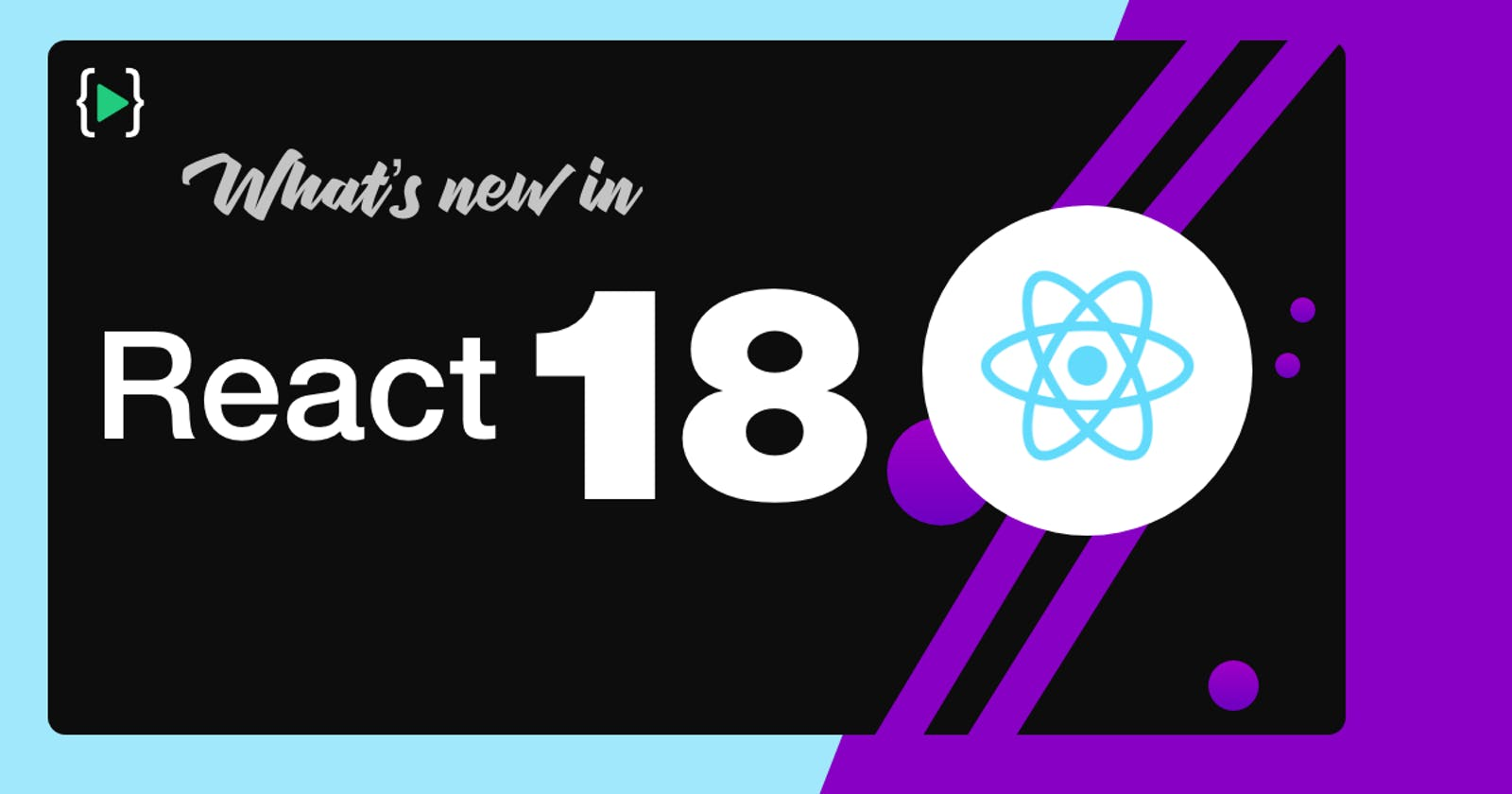 What's new in react 18?