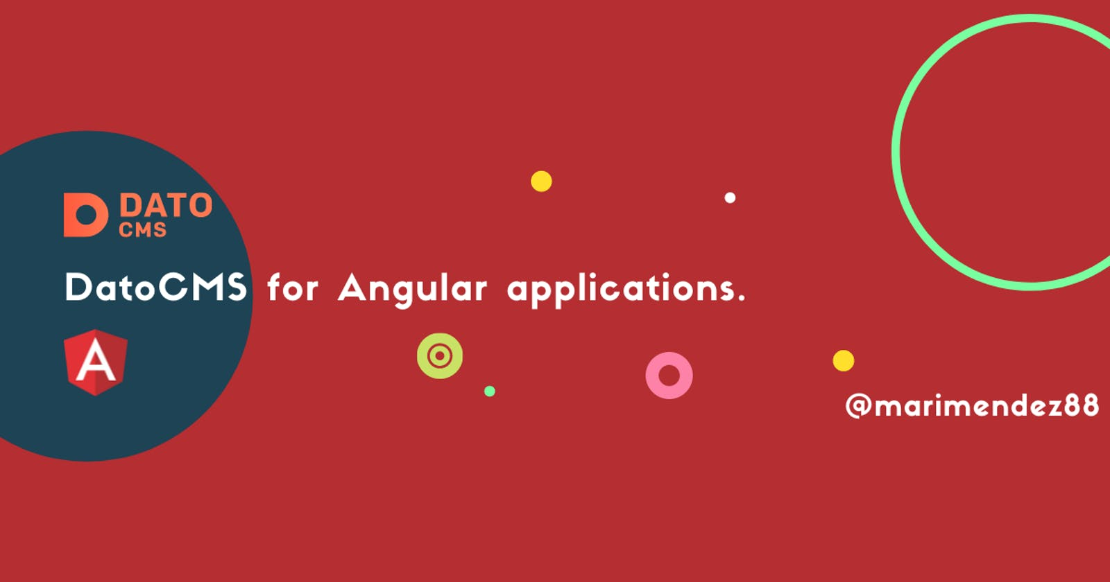 DatoCMS for Angular Applications