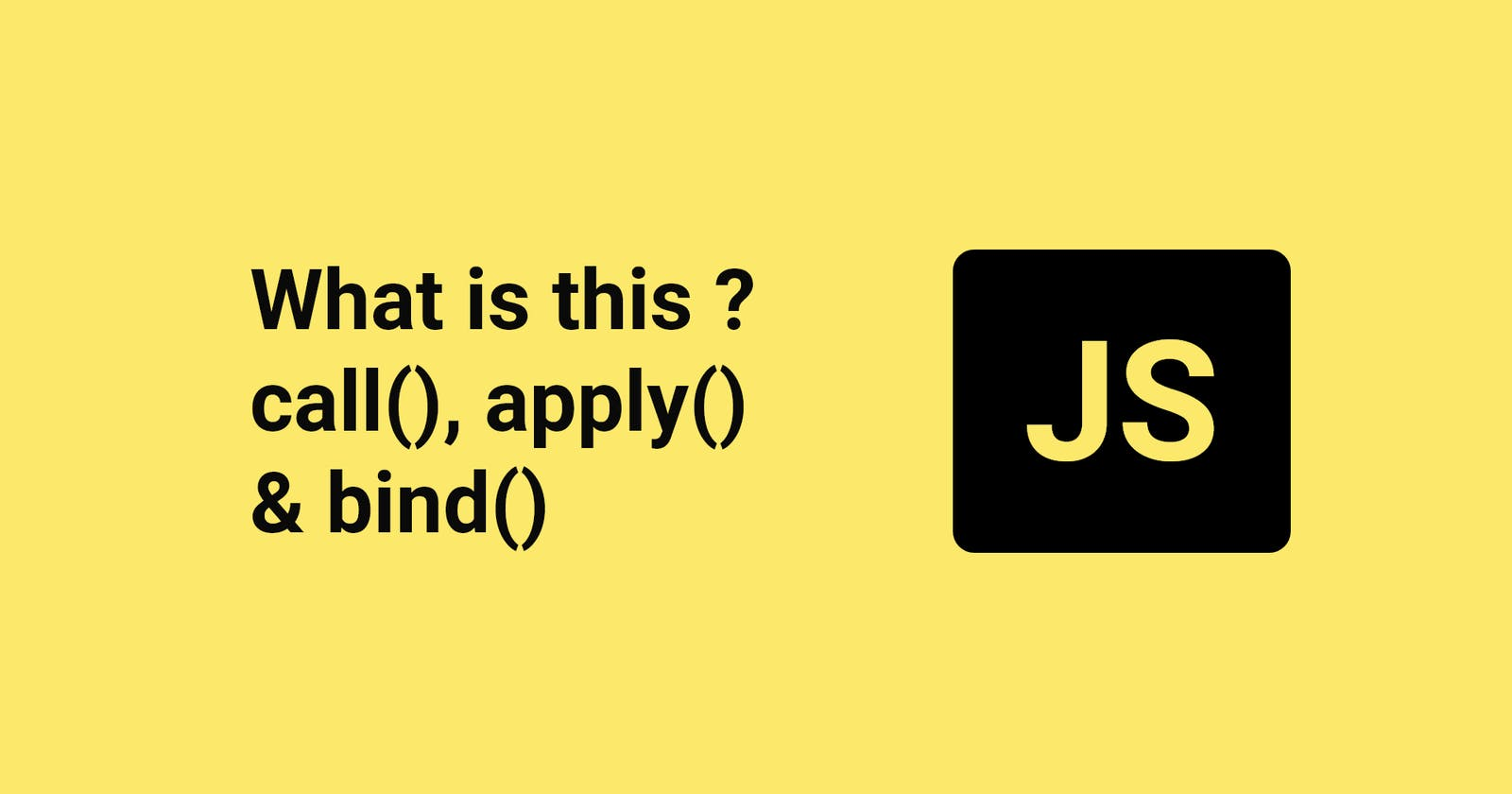"""What is """"this"""" in JS?"""