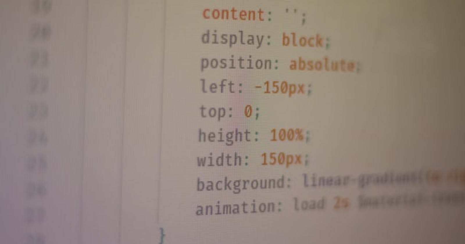 CSS Shorthand – Useful CSS Shorthand Properties