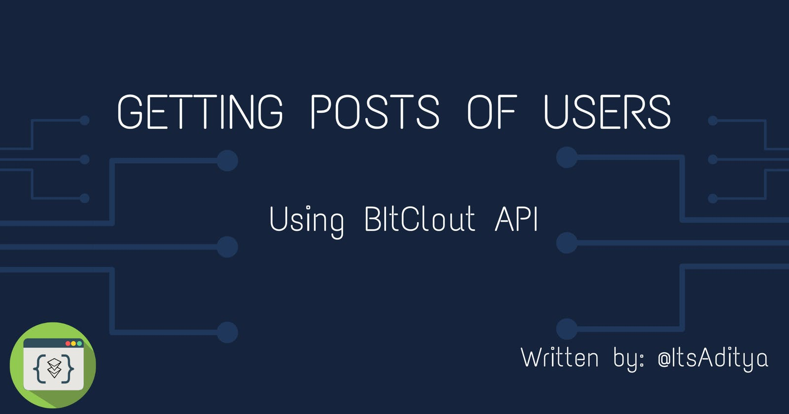Getting posts of BitClout User