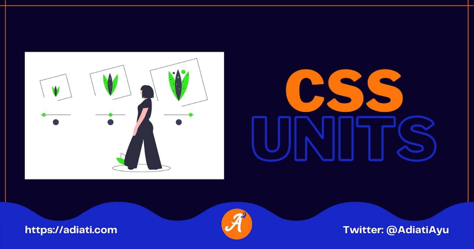 CSS Units