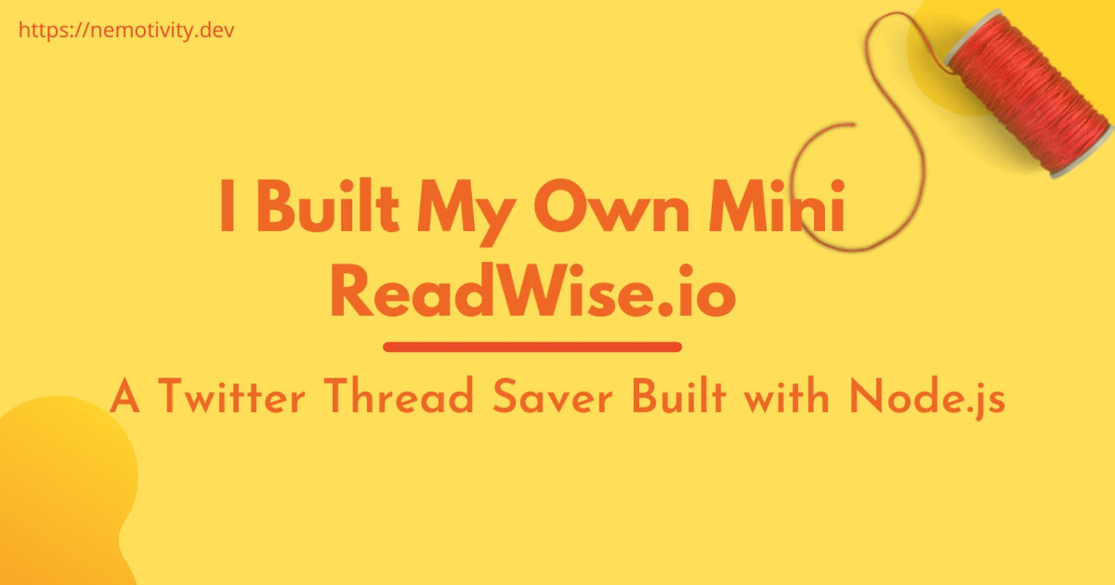 I Built My Own Mini ReadWise.io with Node.js and HarperDB