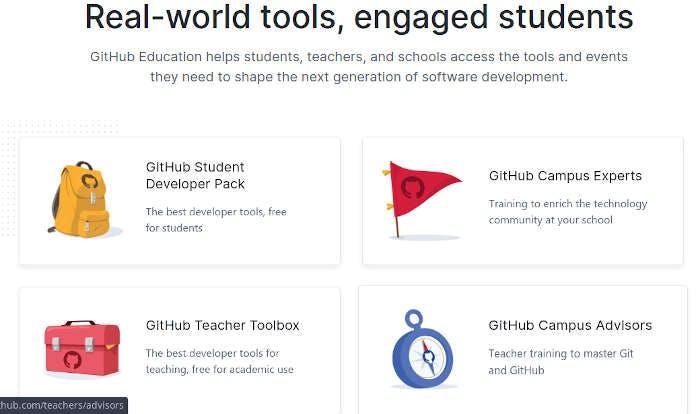Ảnh 1 - Nhận tài trợ từ chương trình Github Education