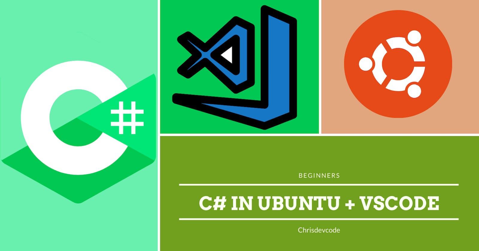C#(Dotnet) Setup in Ubuntu with VSCode