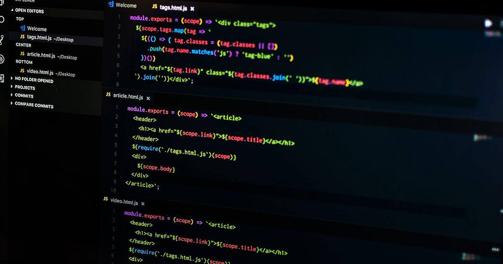 Thiết lập Visual Studio Code và Extensions dành cho dân Front End