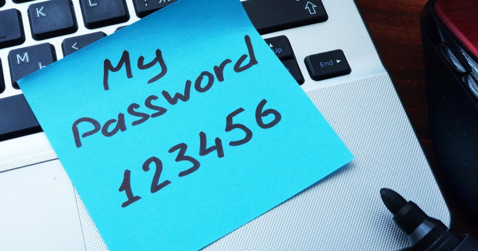 THE BIG PICTURE: Storing User Passwords