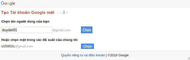 Ảnh 4 - Tạo hàng chục tài khoản Gmail trên 1 số điện thoại