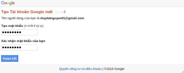 Ảnh 5 - Tạo hàng chục tài khoản Gmail trên 1 số điện thoại