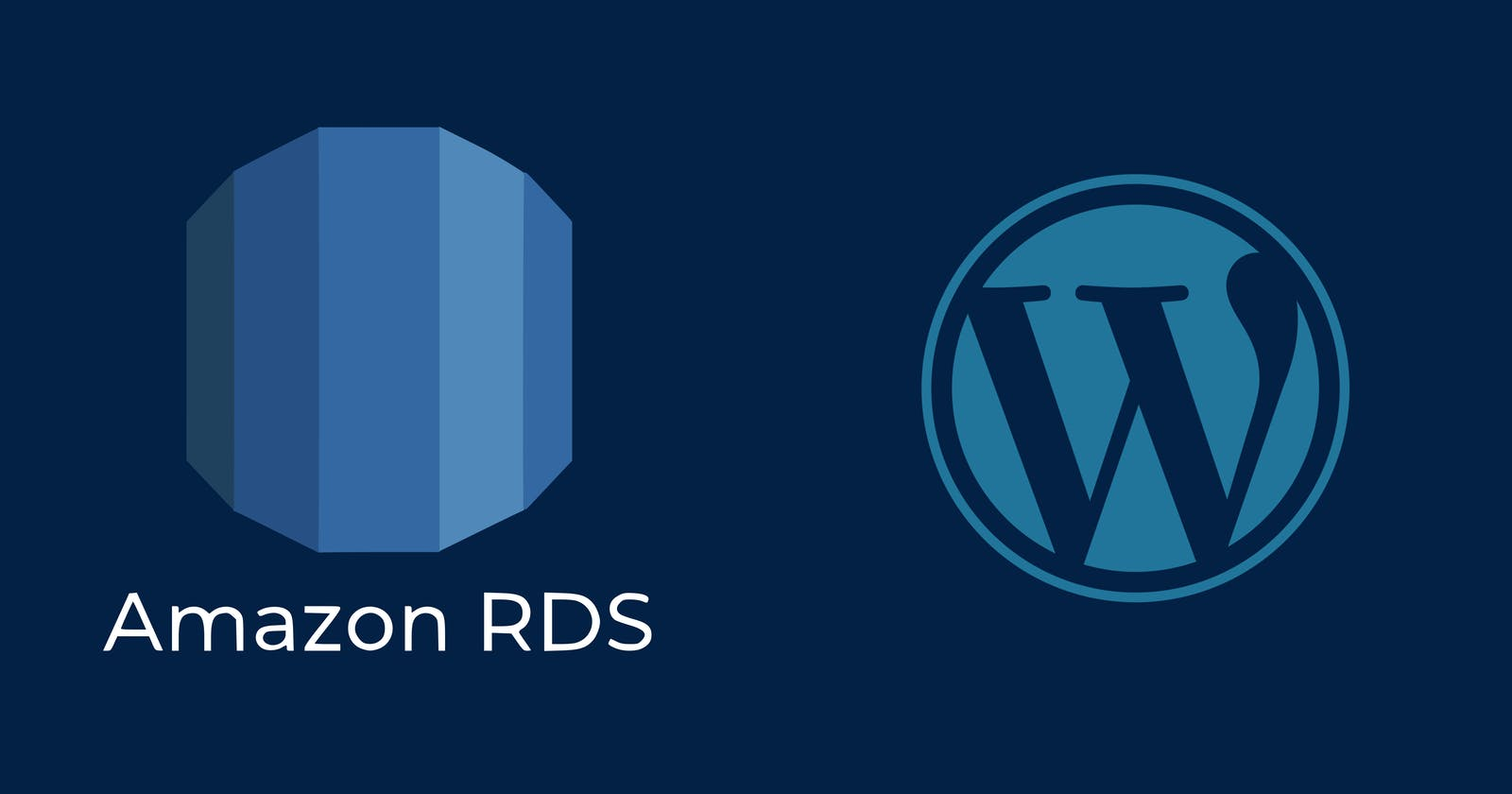 Creating an RDS and using it in WordPress server